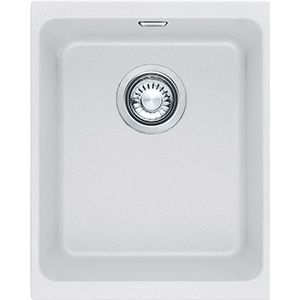 Kubus | KBG 110-34 | Fragranite Pure White | Sinks