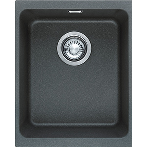 Kubus | KBG 110-34 | Fragranite Graphite | Sinks