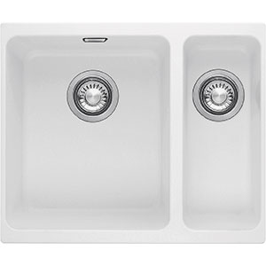 Kubus | KBG 160 | Fragranite Polar White | Sinks