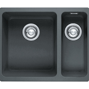 Kubus | KBG 160 | Fragranite Graphite | Sinks
