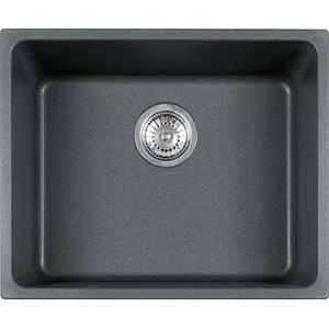 Kubus | KBG 110-50 | Fragranite Graphite | Sinks