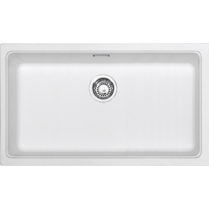 Kubus | KBG 110-70 | Fragranite Pure White | Sinks