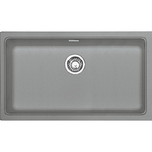 Kubus | KBG 110 70 | Fragranite Stone Grey | Sinks