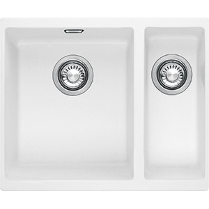 Sirius | SID 160 | Tectonite Polar White | Sinks