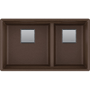 Peak | PKG160MOC | Fragranite Dark Brown  | Sinks