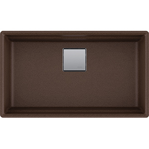 Peak | PKG11031MOC | Fragranite Dark Brown  | Sinks
