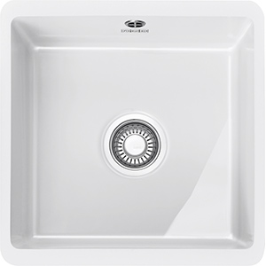 Kubus | KBK 110 40 | Ceramic White  | Sinks