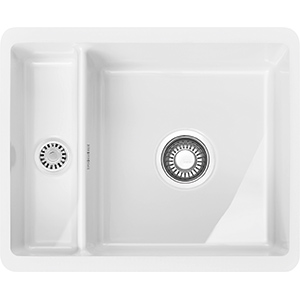 Kubus | KBK 160 | Ceramic White  | Sinks