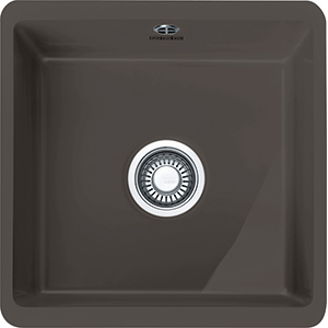 Kubus | KBK 110 40 | Ceramic Graphite | Sinks