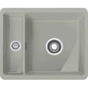 Kubus | KBK 160 | Ceramic Pearl Grey Matt | Sinks