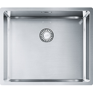 Franke Box | BXX 110-50/ BXX 210-50 | Stainless Steel | Sinks