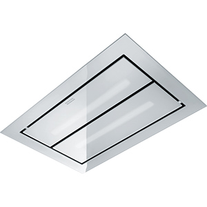 Maris Up and Down | FCUD 904 C WH RF UD | Stainless Steel-Glass White | Hoods