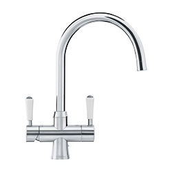 Omni 4-in-1 Tap | Omni Classic | Stainless Steel | Instant boiling water taps