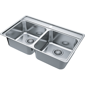 Bell | BCX 620-35-35 | Stainless Steel | Sinks