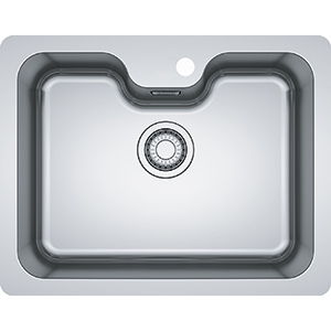 Bell | BCX 110-55 W/A | Stainless Steel | Sinks