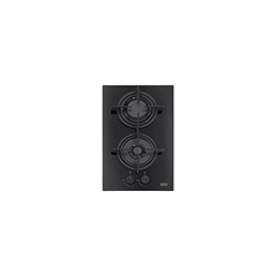 Crystal | FHCR 302 2G HE BK C | Glass Black | Cooking Hobs