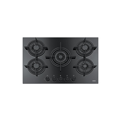 Crystal | FHCR 755 4G TC HE BK C | Glass Black | Cooking Hobs