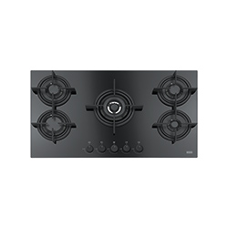 Crystal | FHCR 905 4G TC HE BK C | Glass Black | Cooking Hobs