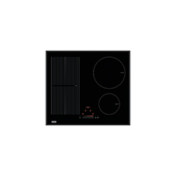 Crystal | FH 604 2I 1FLEXI T PWL | Glass Black | Cooking Hobs