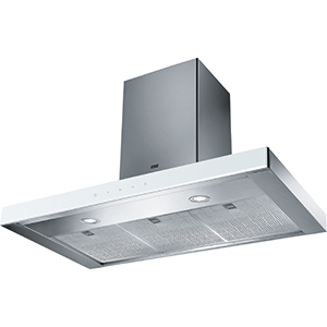 Crystal Touch | FCR 925 TC WH XS | Acero Inoxidable / Blanco | Campanas