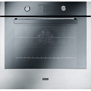 Crystal | CR 982 M XS M DCT TFT | Stainless Steel-Mirror Glass Black | Ovens