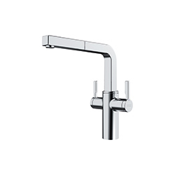 Frames by Franke | 2 LEVER PULLOUT NOZZLE FS 2H PO CHR | Chrome | Taps