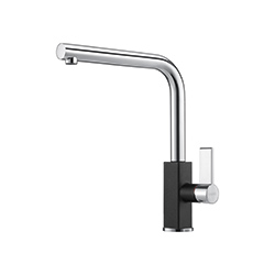 Maris | Swivel Spout | Chrome-Onyx | Taps