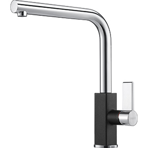 Maris | Vaste uitloop | Chrome-Onyx | Kranen