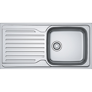 Antea | AZN 611-100 | Stainless Steel | Sinks