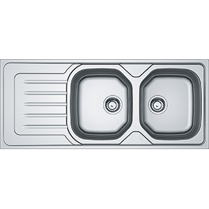 Onda Line | OLX 621 | Stainless Steel | Sinks
