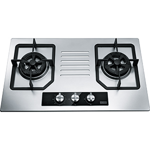 Bi Gas Hob | P0908M | Stainless Steel | Cooking Hobs