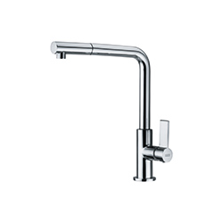Bell | Pull Out Nozzle | Satin Nickel | Taps