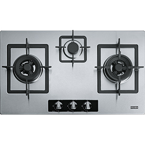 Bi Gas Hob | FH157A 762 XS | Stainless Steel | Cooking Hobs