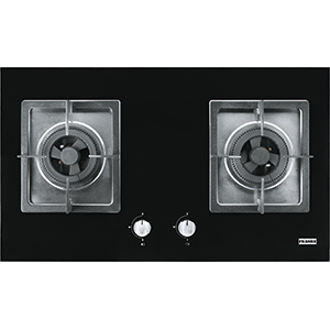 Bi Gas Hob | FG211M | Glass Black | Cooking Hobs