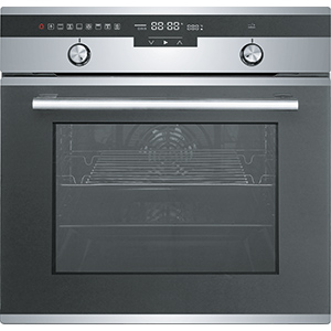 BI Oven | FO6A31E 96 M XS SM88L | Stainless Steel-Glass Black | Ovens