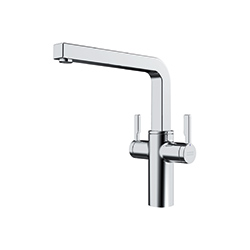 Frames by Franke | 2 LEVER SWIVEL SPOUT FS 2H SW CHR | Chrome | Taps