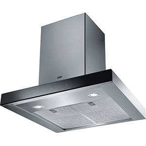 Crystal Touch | FCR 625 TC BK XS | Stainless Steel-Black | Hoods