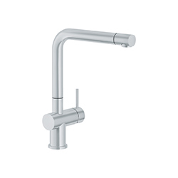 Active Plus | Bec orientable | Inox look | Mitigeurs