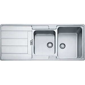 Hydros | HDX624 | Stainless Steel | Sinks
