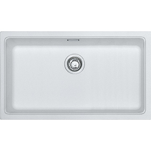 Kubus | KBG 110 70 | Fragranite Polar White | Sinks