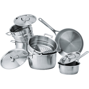 A di Alessi for Franke Cookware | Cookware Collection | Нержавеющая сталь