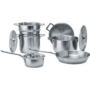 A di Alessi for Franke Cookware | Cookware Collection | Inox