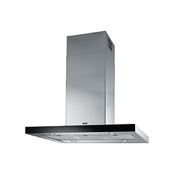 Crystal Touch | FCR 935 BK/XS I | Stainless Steel-Glass Black | Hoods