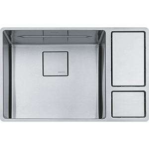 Chef Center | CUX110-18 | Stainless Steel | Sinks