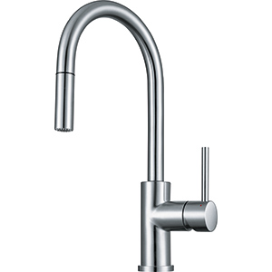 Cube | FFP3350 | Stainless Steel | Faucets