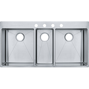 Vector | HFT4322-4KIT | Stainless Steel | Sinks