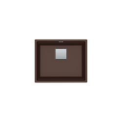 Kubus 2 | KNG 110-52 | Fragranite Dark Brown  | Eviers