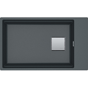 Kubus 2 | KNG 110-62 | Fragranite Graphite | Sinks