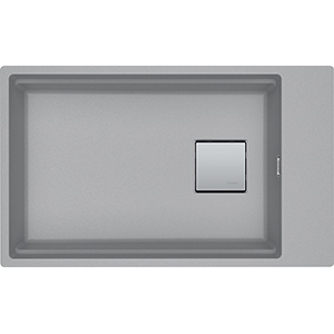 Kubus 2 | KNG 110-62 | Fragranite Stone Grey | Sinks