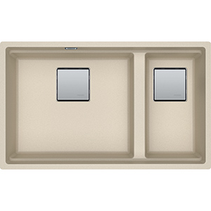 Kubus 2 | KNG 120 | Fragranite Oatmeal | Sinks